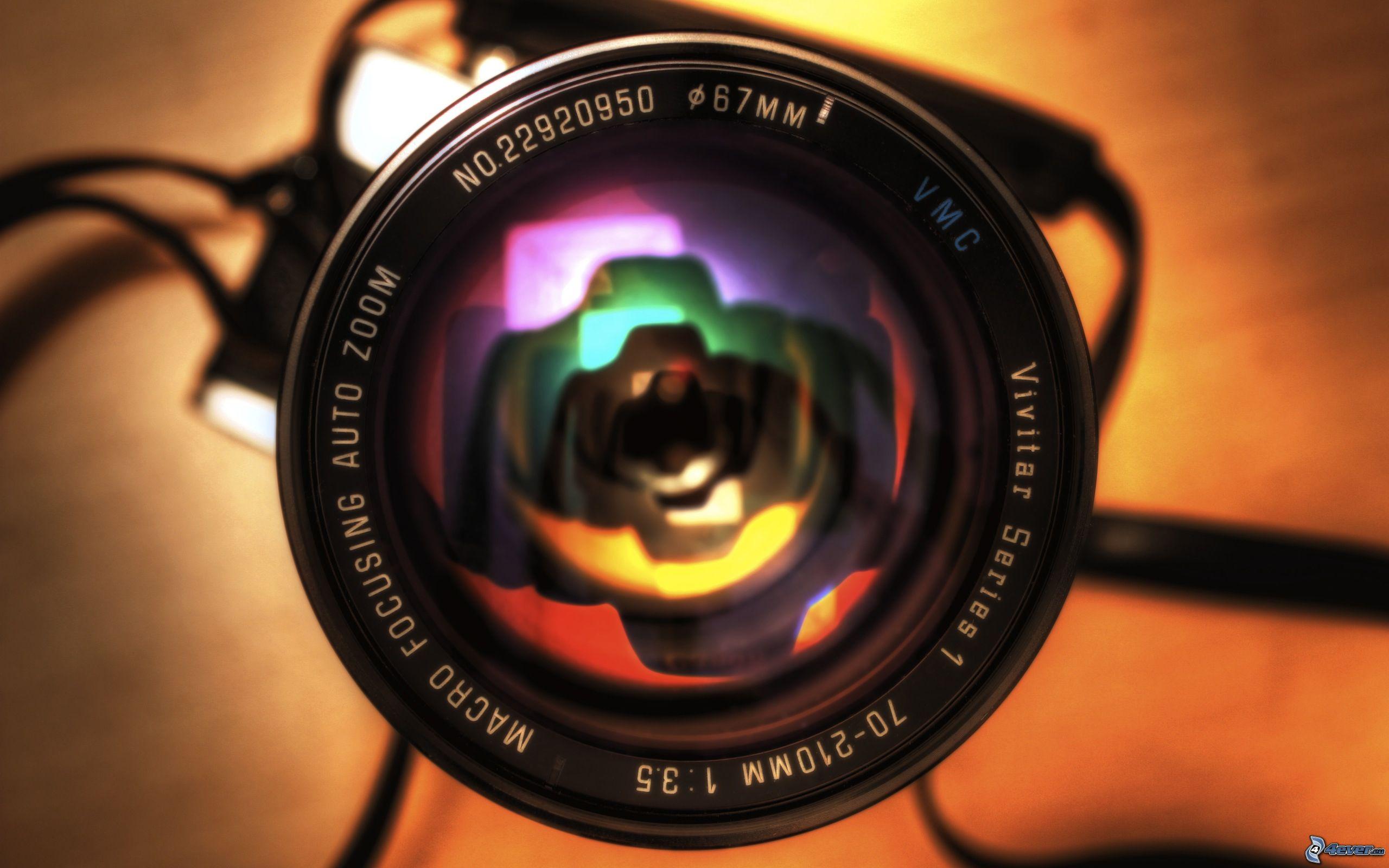 Objetivo cámara